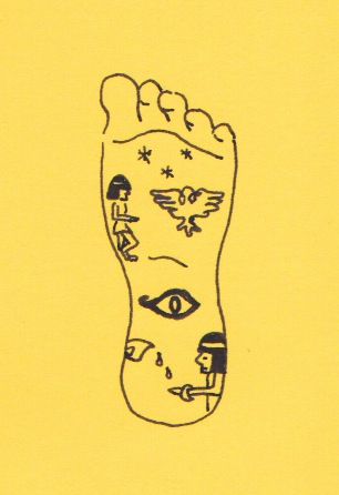 The Egyptians knew all about the power of the feet